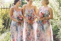 Chief bridesmaid Summer's dress / I want maybe a combination with a slit  but that kinda top :)