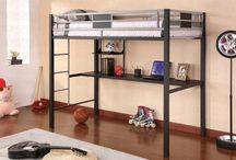 bunk bed desk