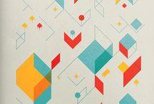 Abstrakt/minimalisert illustrasjon