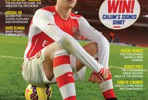 The Arsenal Magazine / The Arsenal Magazine contains a host of exclusive features. WIthin the 100 pages are interviews, columnists, all the match stats and reports you'll need, as well as a 16-page 'Young Gunners' supplement – and lots more besides.  / by Arsenal Football Club
