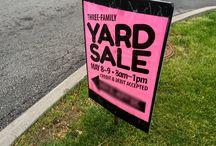 Yard Sale Organization
