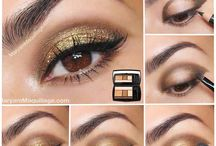 Make Up Tutorials Made Easy / Simple and easy make up tutorials, everyday makeup, evening makeup, special occasion makeup, make-up lessons,