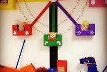 School holiday decoration