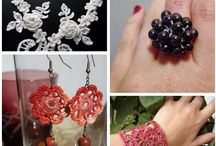 Crochet/Jewelry Ideas & Accesories