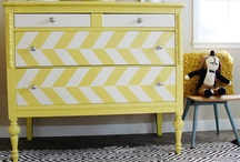 yellow furniture inspiration