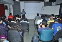 Workshop with Neil Sadwelkar / A session on DCP Workflow and BluRay with Mr. Neil Sadwelkar. This session helped #WWIStudents to understand the data & workflows for movies
