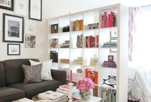 Making the most of small spaces / Find solutions to work with your small home with these fun and savvy ideas. Decorate with ease and create storage spaces.
