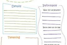 Werkbladen school / Werkblad om uitje te evalueren