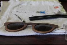 Manufacturing Double O Sunglasses / During the manufacturing process, every piece of natural wood is hand-picked for premium quality and durability. For the shaping of each individual item, we use a combination of cutting-edge CNC technologies and traditional handmade techniques.