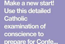 Catholic Examination of Conscience
