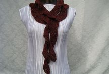 Women/Girls Scarves / Handknitted  Fashion  Scarves & More... / by designbyelena