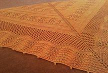 Knitting shawl- shawlette / knitting shawls - shawlettes
