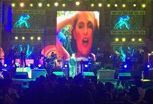 #PaquitaladelBarrio y #LupitaD'Alessio en Concierto / Un éxito el show #PaquitaladelBarrio y #LupitaD'Alessio en San Luis Potosí ante más de 15 mil personas. #NRartistas #Show #Contrataciones #Booking