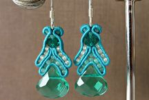 Turquoise / There's a lot to be said for a little bit of ear candy -- of the turquoise variety -- just for fun. Who knows, these might act as the perfect hint for your Valentine!