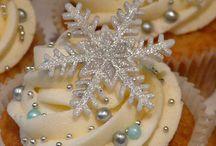 свадебное зимнее печенье