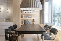 interior DINING ROOM jedáleň