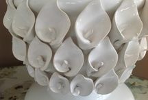 Citrus and white / Beautiful ceramics to decorate your home.
