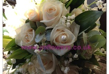 Bridal bouquet / Different styles of Bridal Bouquets all made by the Jmos Team