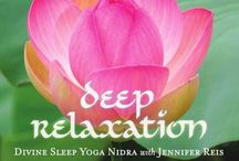 Yoga Nidra Divine Sleep Yoga Nidra CDs and MP3s Jennifer Reis / Divine Sleep Yoga Nidra is a powerful and transformational practice developed by Jennifer Reis. Experience deeper levels of inner freedom than you ever imagined possible. There is nothing required of you but to sit or lie down, and listen. Improve sleep, connect with your true Self, and rejuvenate. / by Jennifer Reis