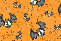 Halloween paper, fabric, and backgrounds / by Katherine Earley