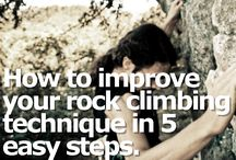 My Healthy Hobby (Climbing) / by Emily Krueger