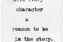 Writing~Characterisation
