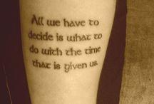 Tattoos / by Christina Dennis