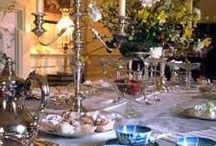 Belles tables du XVIIIe s