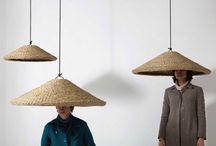Fiber lamps / Lámparas de fibras vegetales
