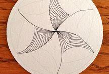 tangles-zen / zentangles patterns