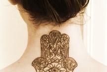 Tattoo hamsa