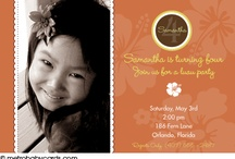 Birthday Invitations / by metrobabycards