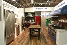 2015 Archietctural Digest Show in New York City / Showcasing our BlueStar Booth that was featured at the 2015 Architectural Digest Show / by BlueStar Cooking