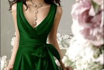 Green Fashion / cool green clothes
