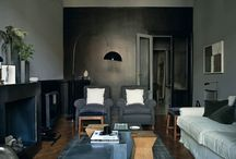 INTERIORS // Monochrome Home / 'For a monochromist, the rainbow is not an option' - Hilary Robertson |  Interior design ideas and inspiration for the whole house - kitchen, living room, bathroom - on a monochrome palette.  / by RPS & CICO Books