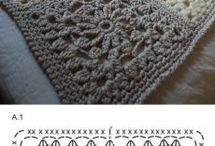 horgolt takaró