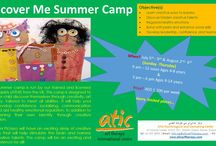 Creative and Expressive Art Therapy Summer camps for children / Check out our creative art skills and mindful wellness summer camps for children. Nurturing creative talents and strengthening confidence and resilience.