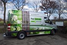 www.paulschramauinontwerp.nl / Bord met impressies van ons bedrijf en af en toe een foto over een project