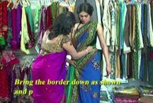 look slim at saree