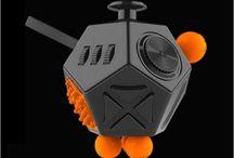Hand Spinner Tri Fidget Tri-Spinner 3D EDC Ceramic Ball Focus Toy For Kids/Adult