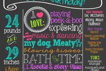 Baby V's Birthday Luau