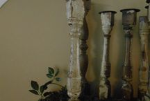 Trash to Treasure Spindles / by South Bend & Mishwaka ReStores