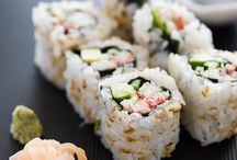 SushiFamilyNite / The kids asked for sushi night. Pins are all super easy sushi night things the kids can help make. Living in CA, I only like sushi there, and only if the sushi is fresh and well made. Will be fun trying sushi nite w local fresh seafood and ingredients:). Pink sea urchin....