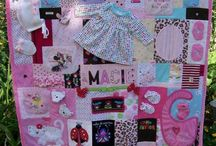 Baby quilt from clothes