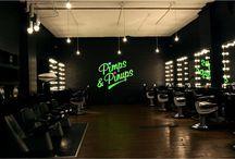 HAIR SALON DESIGN / Hair Salon Inspiration and Style! Interior Design