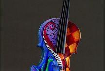 música violin