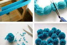 DIY-Tassels and Balls of Yarn