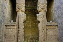 Ancient Egyptian  Temple of Dendera