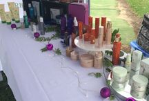 Display Ideas / Market stalls, display tables and presentation setup