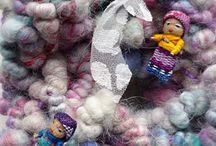 My hand-spun yarn